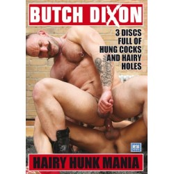 HAIRY HUNK MANIA 3DVD BOX