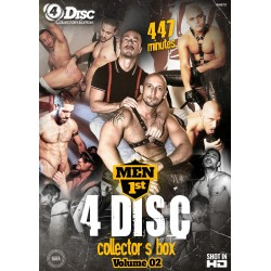 MEN FIRST BOX 2 4DVD Set