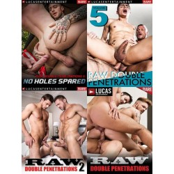 Raw Double Penetrations 4 DVD Set